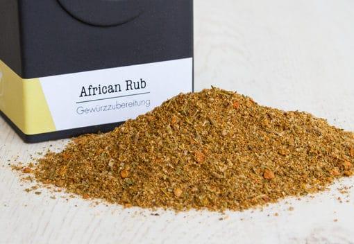 African Rub, afrikanische Gewürzmischung