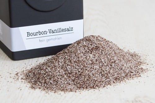 Bourbon-Vanille-Salz, BIO
