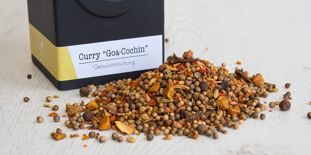 Curry Goa-Cochin, Currymischung