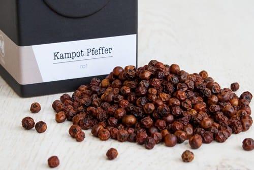 Kampot Pfeffer rot