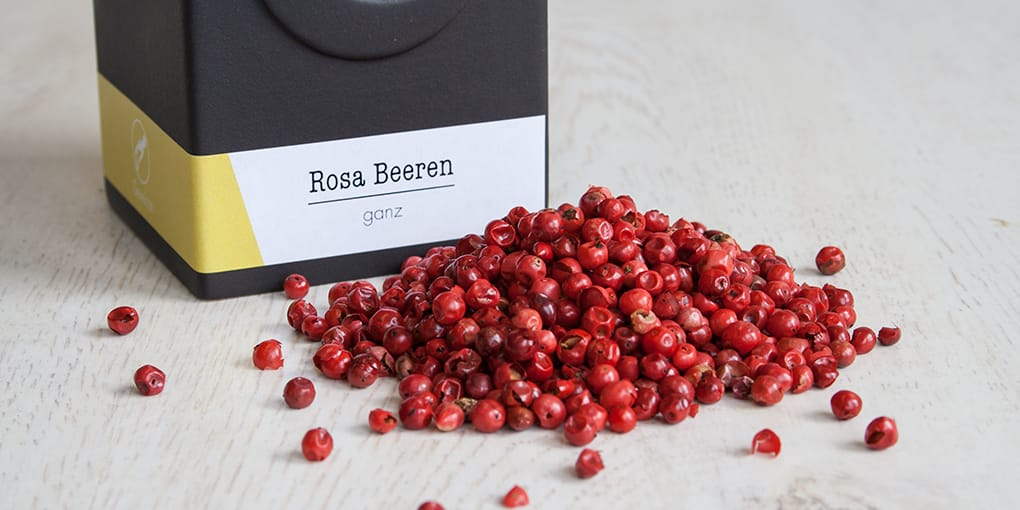 Rosa Beeren, BIO, rosa Pfeffer