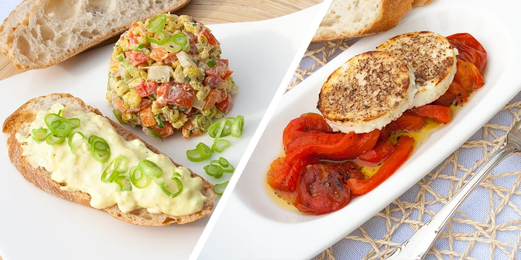 Vegetarische Rezepte und Gewürze