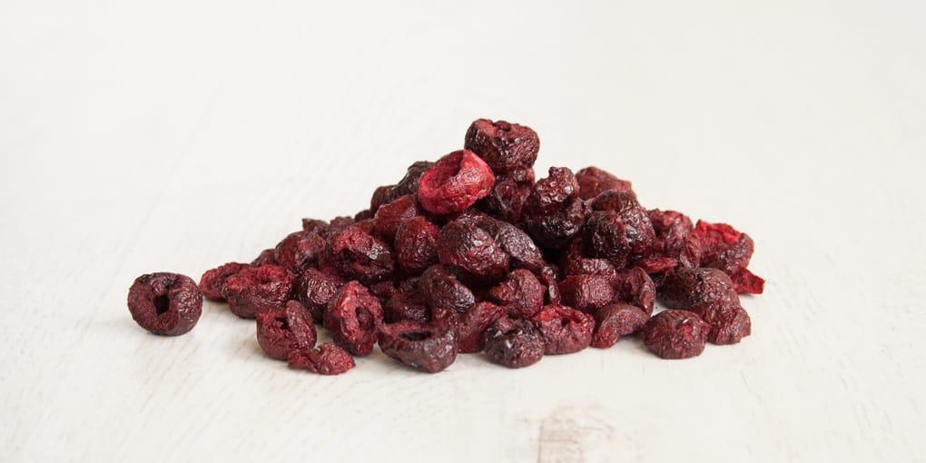 Sauerkirschen gefriergetrocknete Früchte