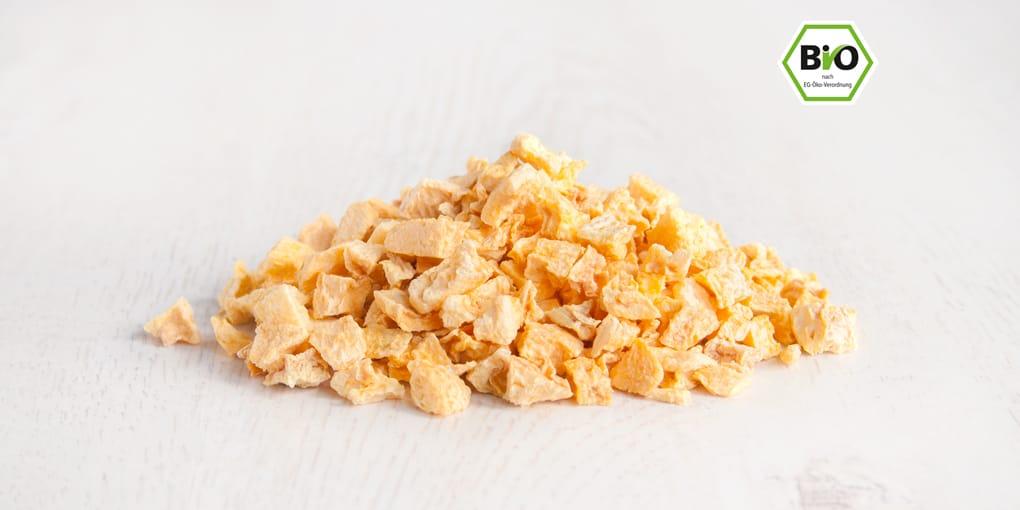 Aprikose, Stücke, gefriergetrocknet bio