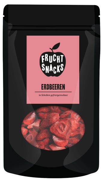 Erdbeeren gefriergetrocknet Packung 25g
