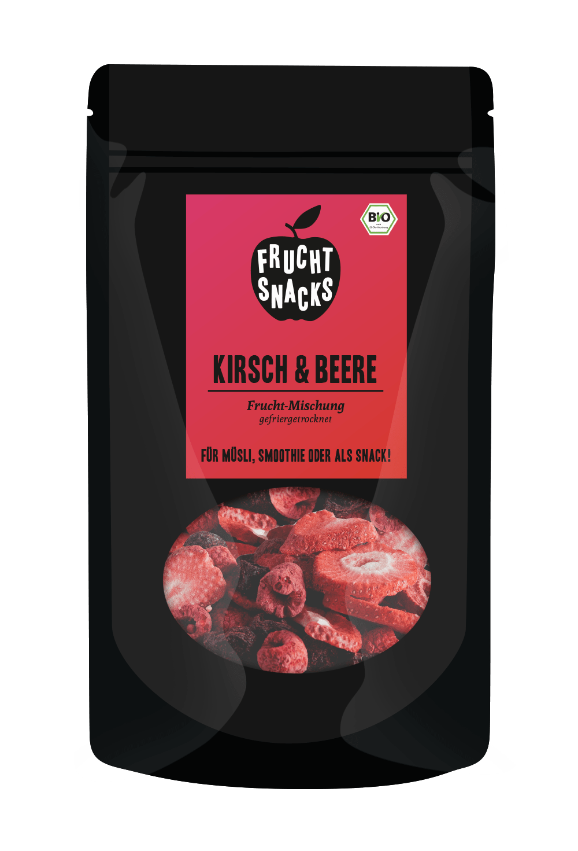 Kirsch und Beere gefriergetrocknet bio