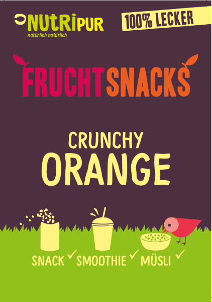Crunchy Orange von FruchtSnacks