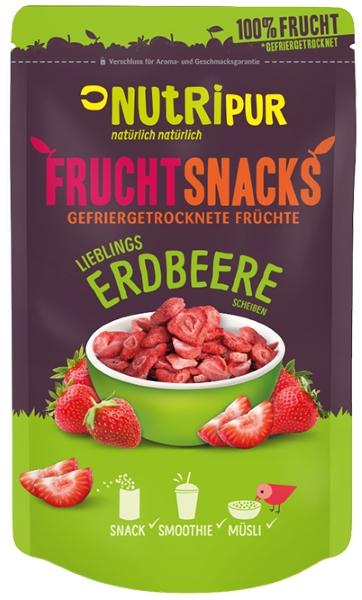 Gefriergetrocknete Erdbeeren FruchtSnacks