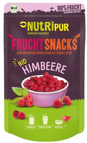 gefriergetrocknete BIO Himbeeren FruchtSnacks
